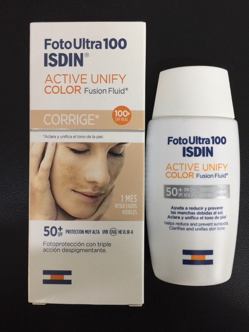 FOTO ULTRA ISDIN FUSION FLUID COLOR SPF 100 + 50 ml ACTIVE UNIFY fotoultra