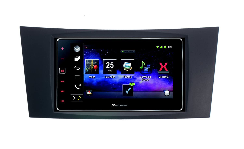carplay mirro rlink pioneer app radio for mercedes benz w211 with rh amazon co uk