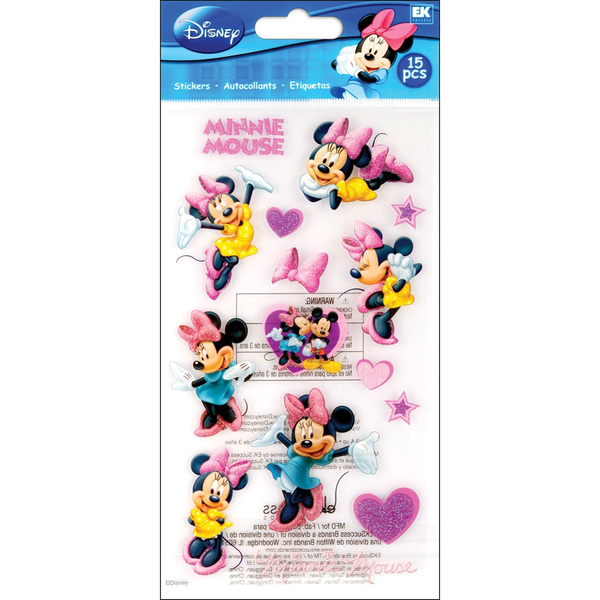 Disney Minnie Mouse Classic Adhesivo EKS 53-00020