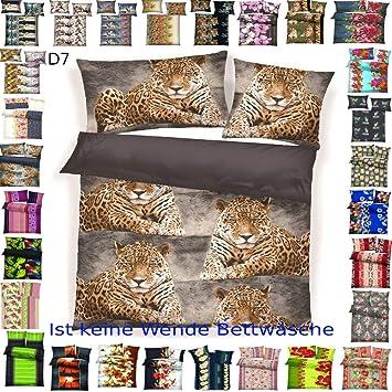4 tlg Warme Microfaser Fleece Winter Bettwäsche 135x200 80x80 viel Auswahl