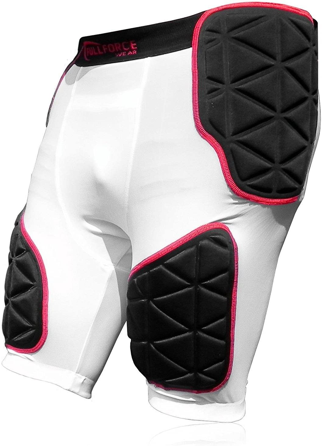 /2/x L Blanc Full Force American Football Triangle 5/Pocket Pad Girdle Taille S/