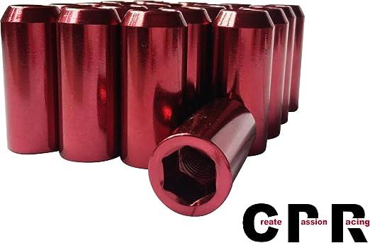 RPC CPR Innerhex 48mm Steel Wheel Lug Nuts 20Pcs M12X1.5 Green