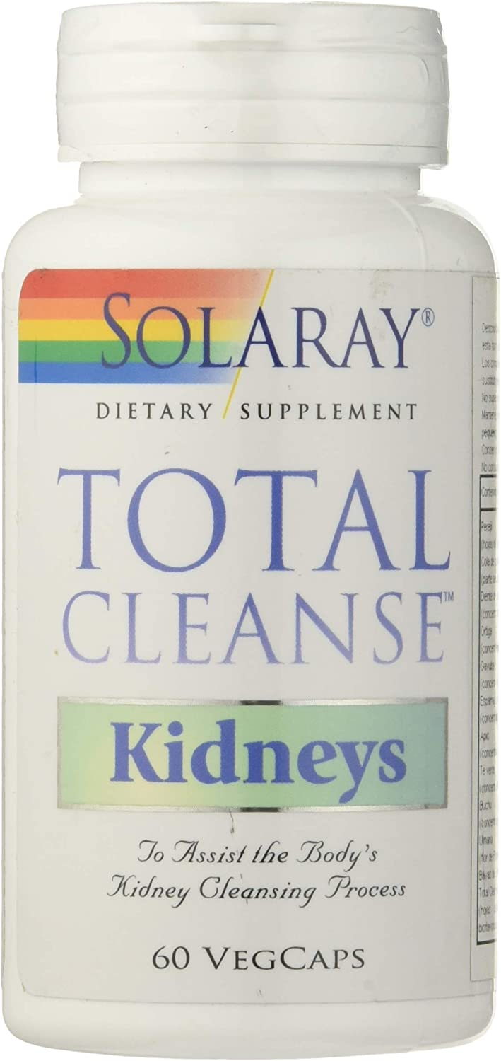 Solaray Total Cleanse Kidneys | Riñones | 60 Cápsulas
