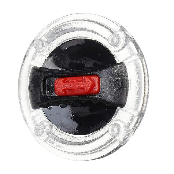 WCHAOEN Kit di blocco schermo lente parabrezza casco moto per LS2 FF358 FF396 FF370 FF386 FF394 Riparare parti