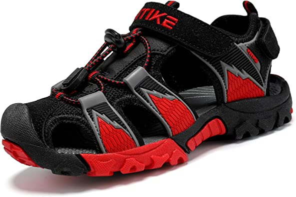 Amazon.com: Kids Sandals Boys Outdoor Hiking Sports Sandal Girls Pool Beach  Shoes Summer Water Shoe Sneakers: Shoes