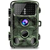 "TOGUARD Trail Camera 14MP 1080P Night Vision Game Camera Motion Activated Wildlife Hunting Cam 120° Detection with 0.3s Trigger Speed 2.4"" LCD Display IP56 Waterproof"