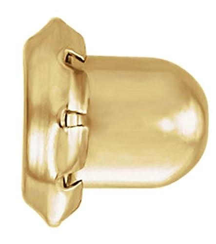 24K Gold Plated Sterling Silver Piercing Earring Backs Respaldos para pendientes de plata esterlina chapados en oro de 24Q Pack of 12 Hypoallergenic Earring Backs Paquete de 12 respaldos