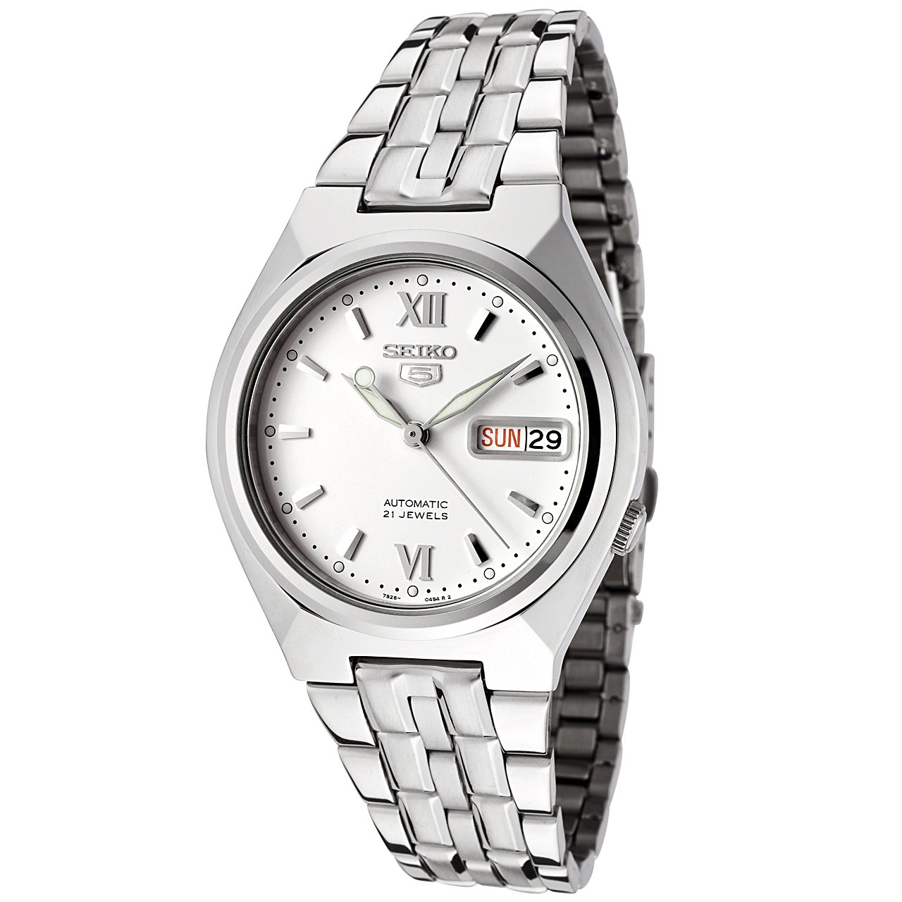 1581d54c6aa Amazon.com  Seiko Men s SNK315K Automatic Stainless Steel Watch  Seiko   Watches