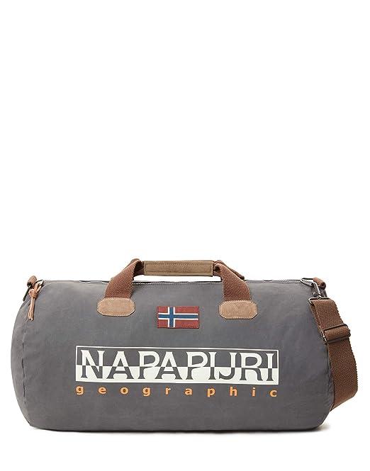343d061a4 Napapijri - Bering 1, Bolsos bandolera Unisex adulto, Grau (Dark Grey Solid)