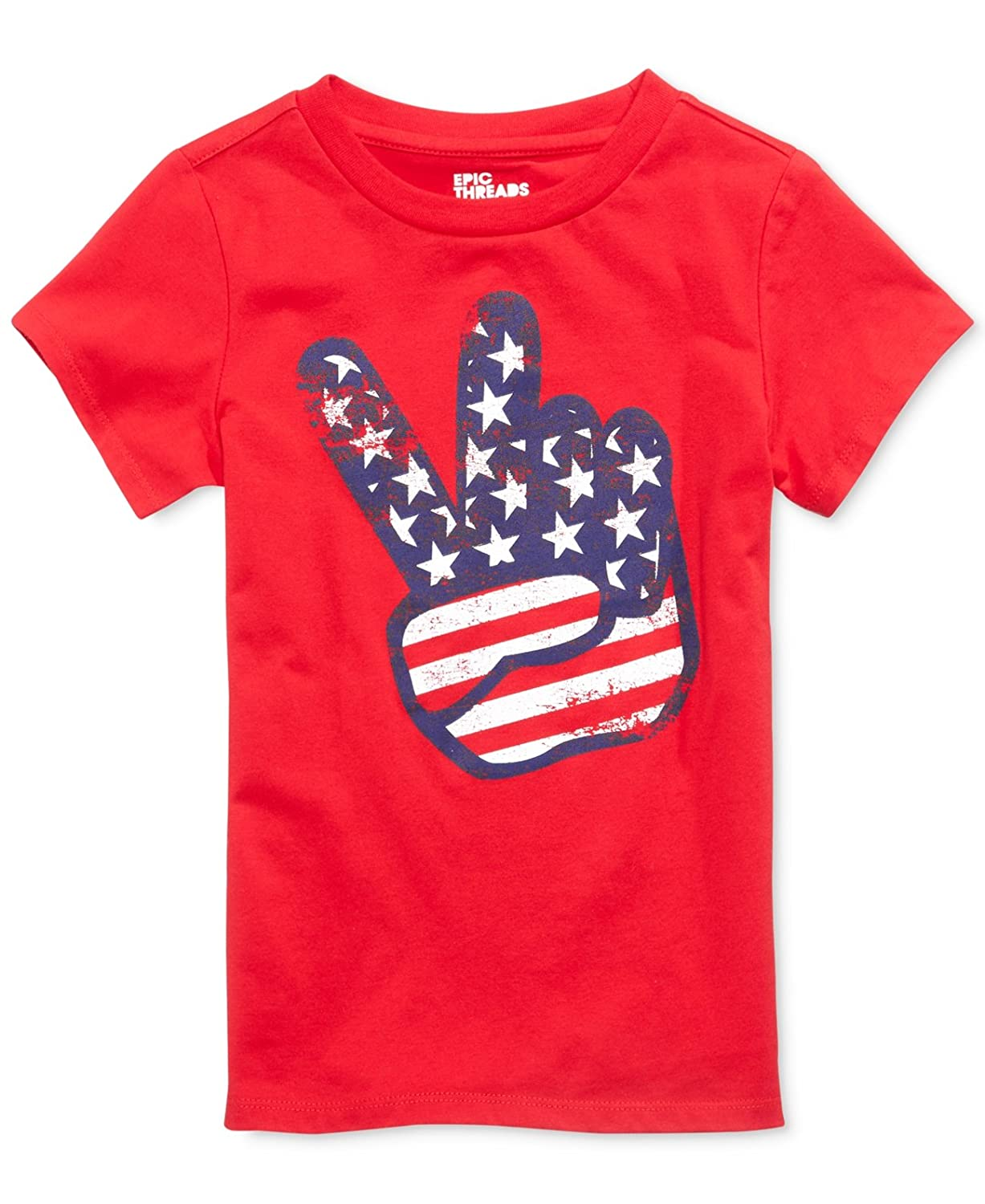 Size 4T//4 Red Toddler /& Little Boys Epic Threads Graphic-Print T-Shirt