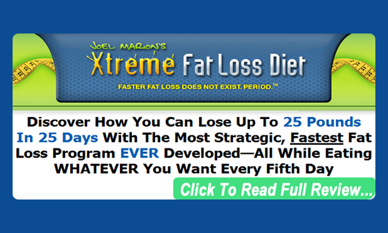 Xtreme fat loss diet system reviews