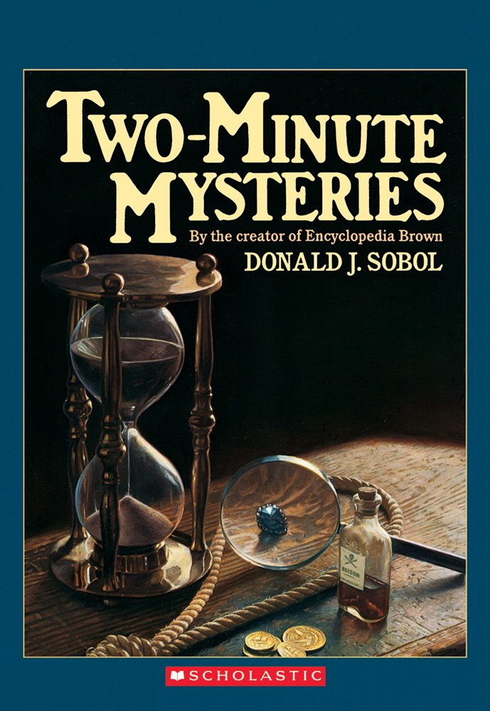 Two Minute Mysteries Apple Paperbacks Donald product image