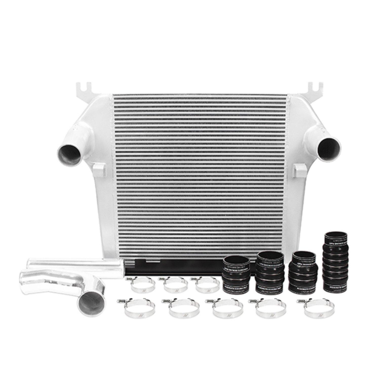 Mishimoto MMINT-RAM-10KSL Dodge 6.7L Cummins Intercooler Kit, 2010-2012 Silver