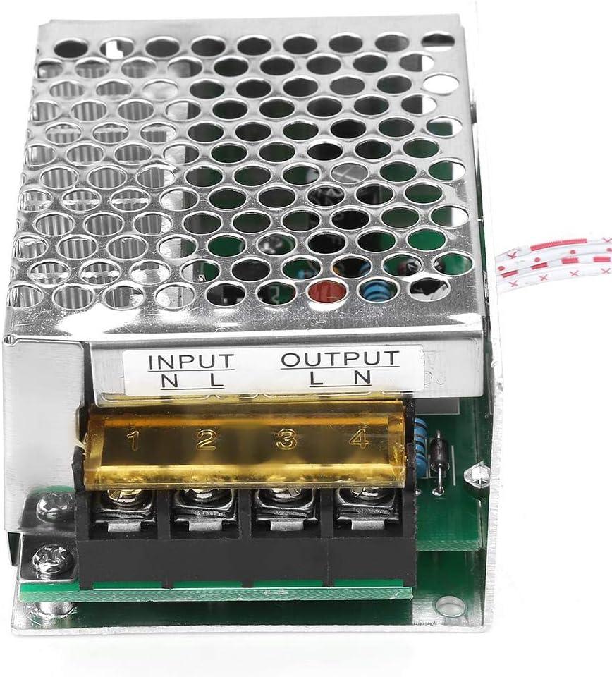 Gradateur Thermostat R/égulateur de vitesse 4000W AC 220V Contr/ôleur SCR R/égulateur de tension /électrique Contr/ôleur de temp/érature de moteur de gradateur