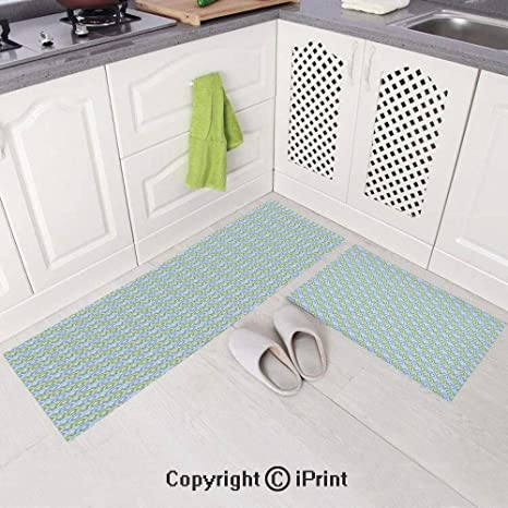 Peachy Amazon Com 2 Piece Flannel Kitchen Rugs Cushioned Chef Soft Download Free Architecture Designs Scobabritishbridgeorg