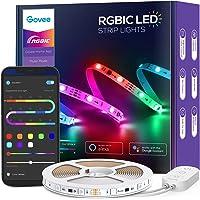 Govee 16.4ft RGBIC Wi-Fi LED Strip Lights