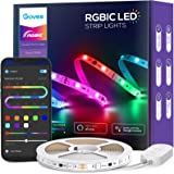 Govee RGBIC Alexa LED Strip Lights, Smart Segmented Color Control, WiFi, App LED Lights Work with Alexa and Google Assistant,