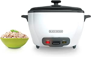 Black+Decker, White RC5280 28 Cup Rice Cooker