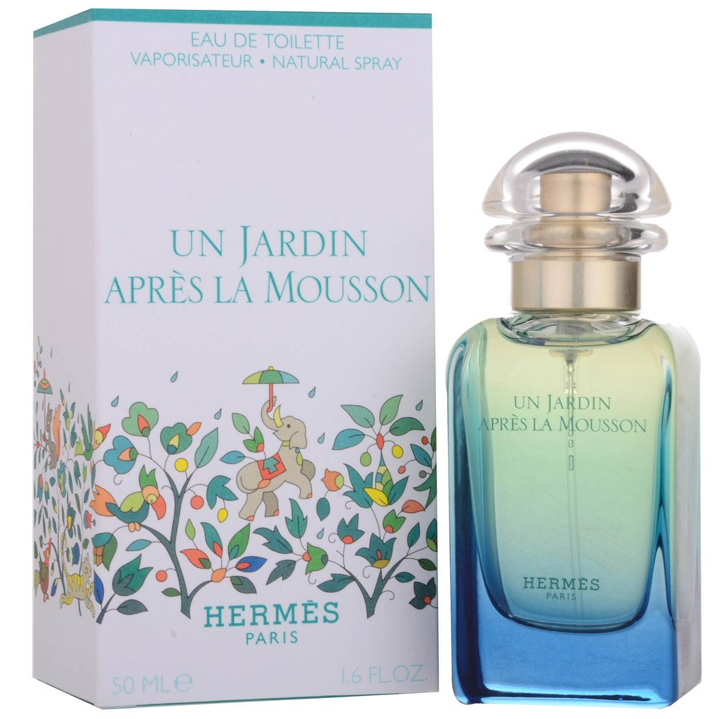 Un Jardin Apres La Mousson by Hermes for Men and Women. Eau De Toilette Spray 1.7-Ounces