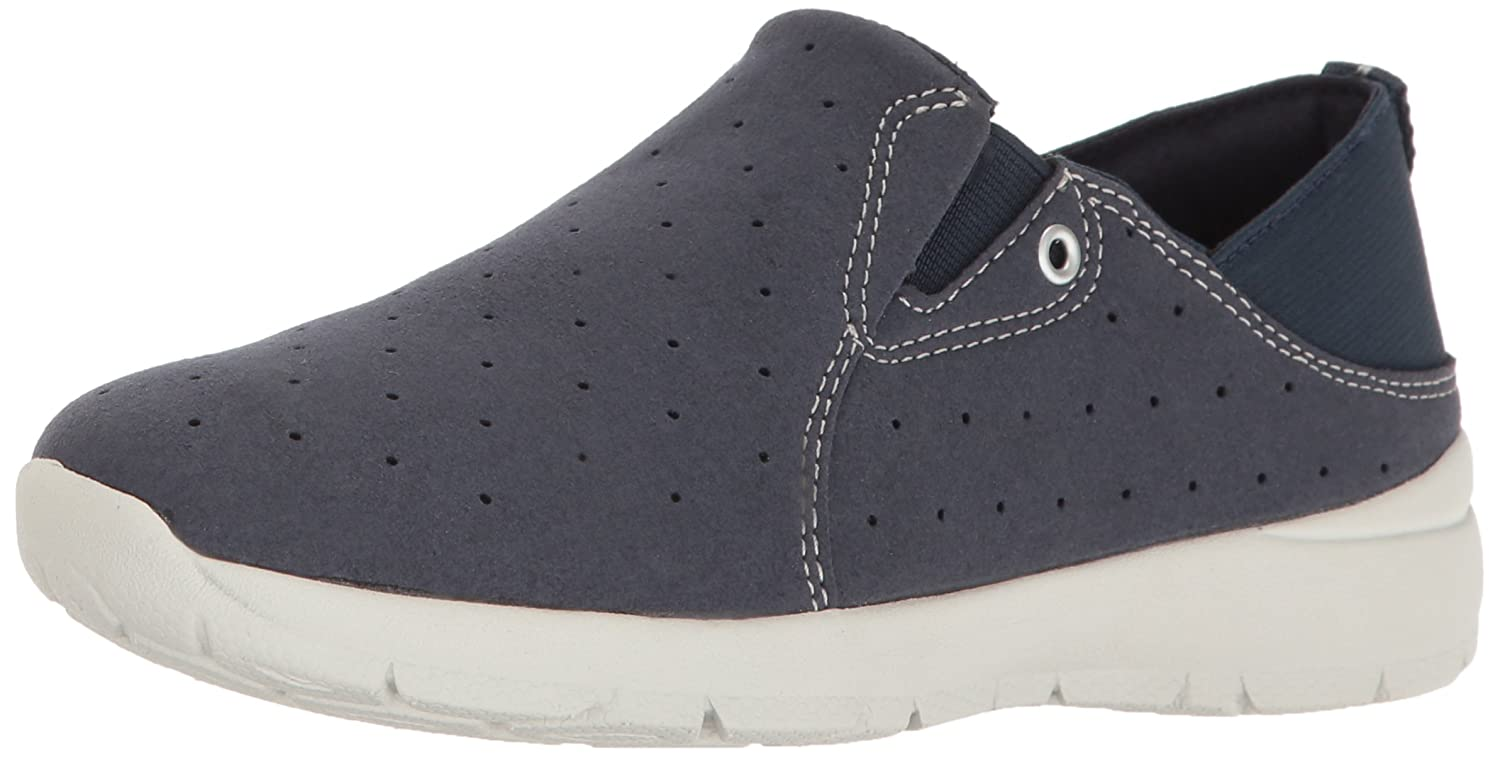 Easy Spirit Women's Getflex2 Fashion Sneaker B01MXE6EGP 6 E US|Navy/Navy Fabric