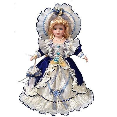 """Jmisa 16"""" Porcelain Victoria Doll: Toys & Games"""