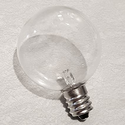 Amazoncom Led Glass Spare Light Bulb For Battery Operated Lights