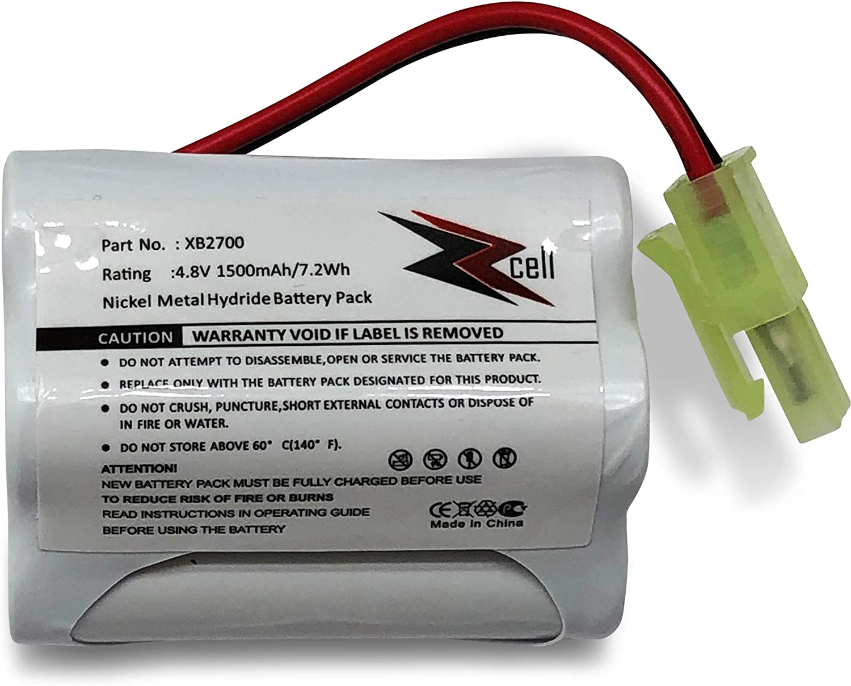 ZZcell Battery for Euro Pro Shark Vacuum Carpet and Carpet Sweeper XB2700, V2930, V2700Z, VAC-XB2700, V2700, 1500mAh (1)