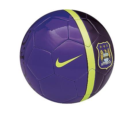 Nike SC2608-553 - Balón de fútbol (5), diseño de Manchester City ...