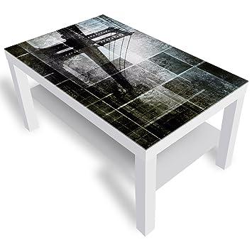 Dekoglas Ikea Lack Beistelltisch Couchtisch New York City Brucke