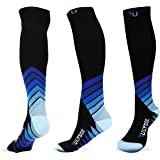 Ulysse Athletica Compression Socks 20-30 mmHg for Men & Women – Stylish Best for Running, Travel, Nurses, Pregnancy, Sports, Recovery, Shin Splints, Medical – Boost Swift Circulation & Stamina