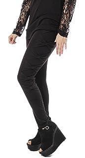 57c09bbeb0df3 Vixxsin Women's Leggings. Vixxsin Women's Leggings. £32.12 · Vixxsin Punk  Mana Open Side Lace up Corset Sexy Festival Fashion Long Leggings Black