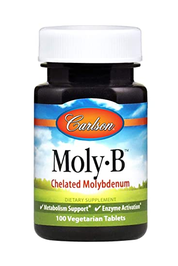 Amazon.com: Carlson Labs Moly-B molibdeno, 500 mcg ...