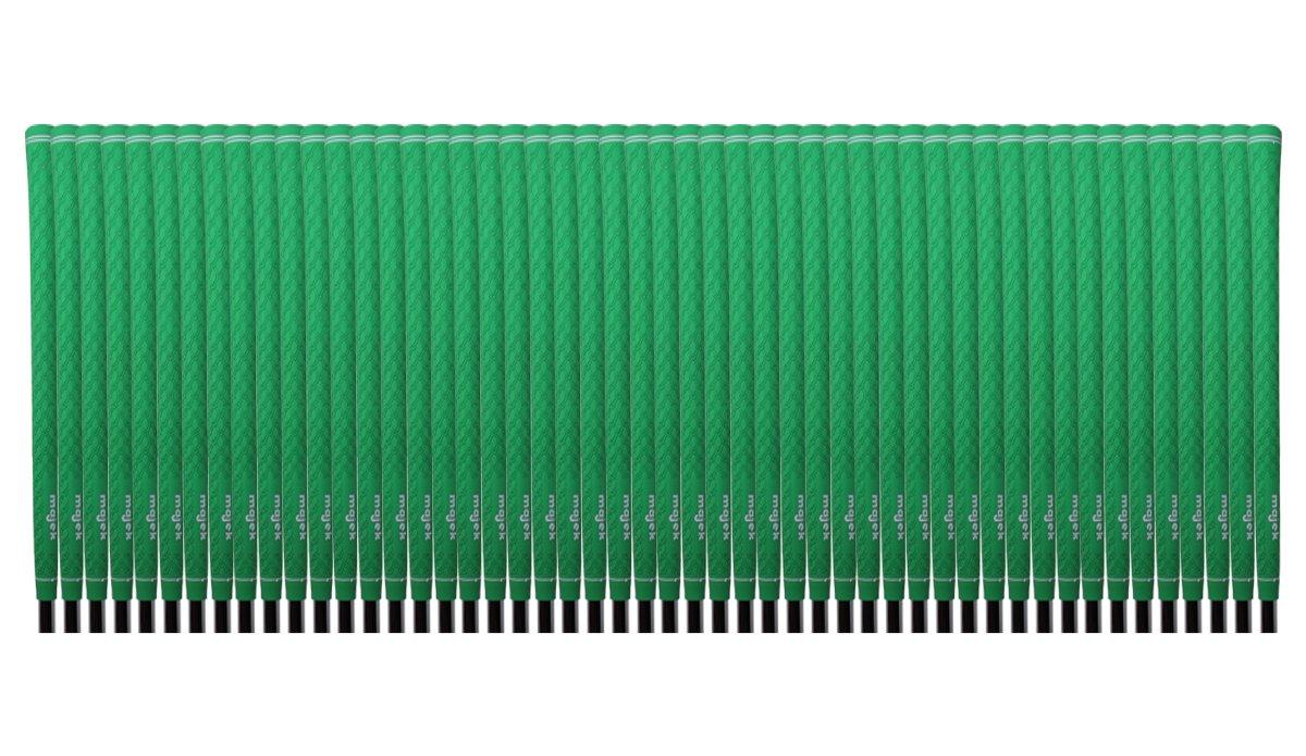 50 Majek Tour Pro Lime Green Standard Golf Grips