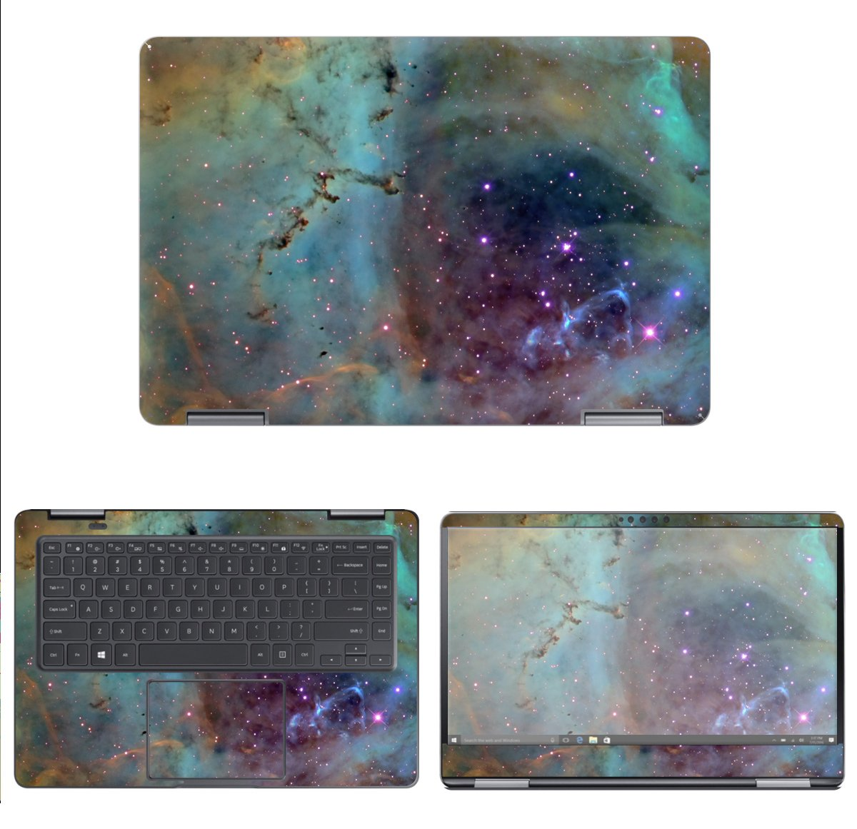 decalrus - Protective Decal Galaxy Skin Sticker for Samsung Notebook 9 Pro 15 NP940X5M (15.6'' Screen) case Cover wrap SAntbk9pro15_np940x5m-74