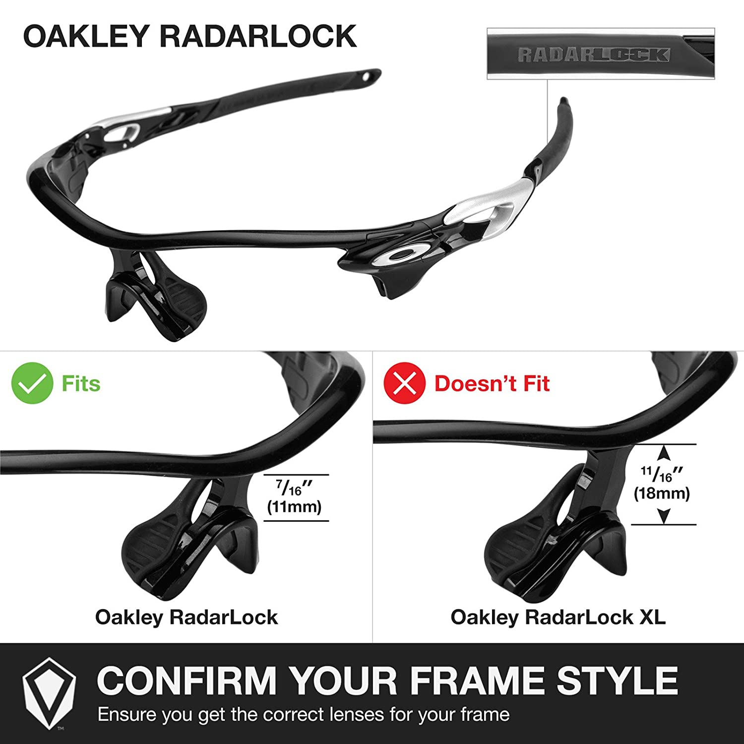 oakley radarlock clear lenses 4pm9  Amazoncom: Revant Lenses for Oakley RadarLock Edge Polarized 24K Gold:  Clothing