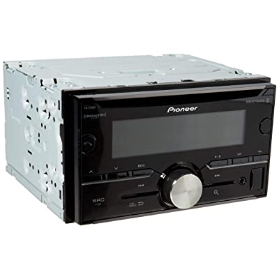 Pioneer FH-S701BS 2-DIN CD Receiver with Pioneer ARC App Compatibility, MIXTRAX, Bluetooth and SiriusXM-Ready