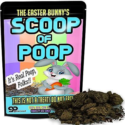 Amazon easter bunny poop scoop of poop gag gift gag gifts easter bunny poop scoop of poop gag gift gag gifts funny easter basket for kids negle Gallery