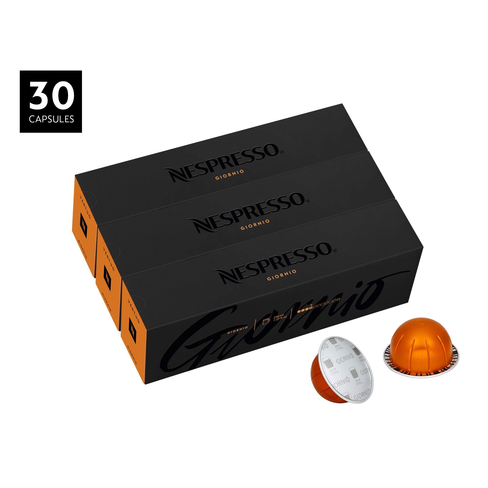 Nespresso VertuoLine Coffee, Giornio, 30 Capsules by Nespresso