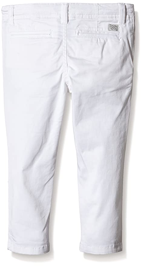 Tommy Hilfiger Boy's Denton Chino ST Kids (Size 128-176) Trousers - White -  16 Years: Amazon.co.uk: Clothing