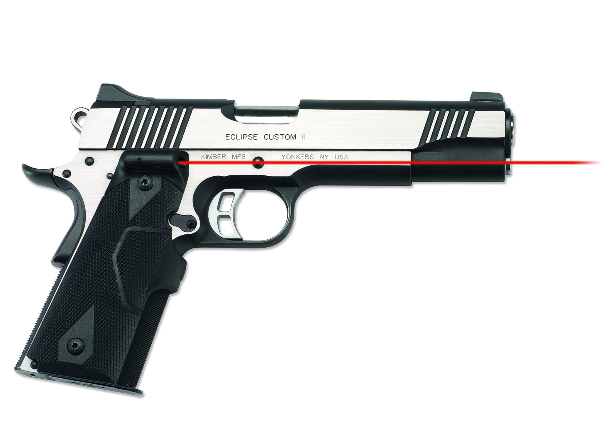Crimson Trace LG-401 Lasergrips Red Laser Sight Grips for 1911 Full-Size Pistols by Crimson Trace (Image #2)