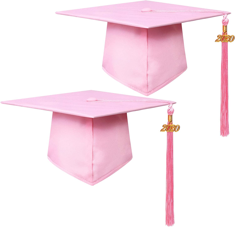 URATOT Adult Graduation Caps Adjustable University Graduation Hat with 2020 Tassel for Graduation