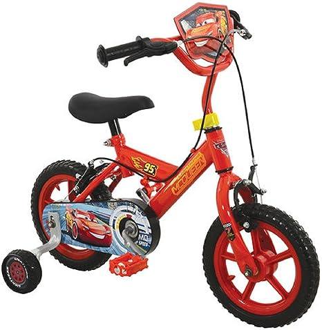Desconocido Cars 3 Boy (Primera Bicicleta, Rojo, tamaño 12: Amazon.es: Deportes y aire libre