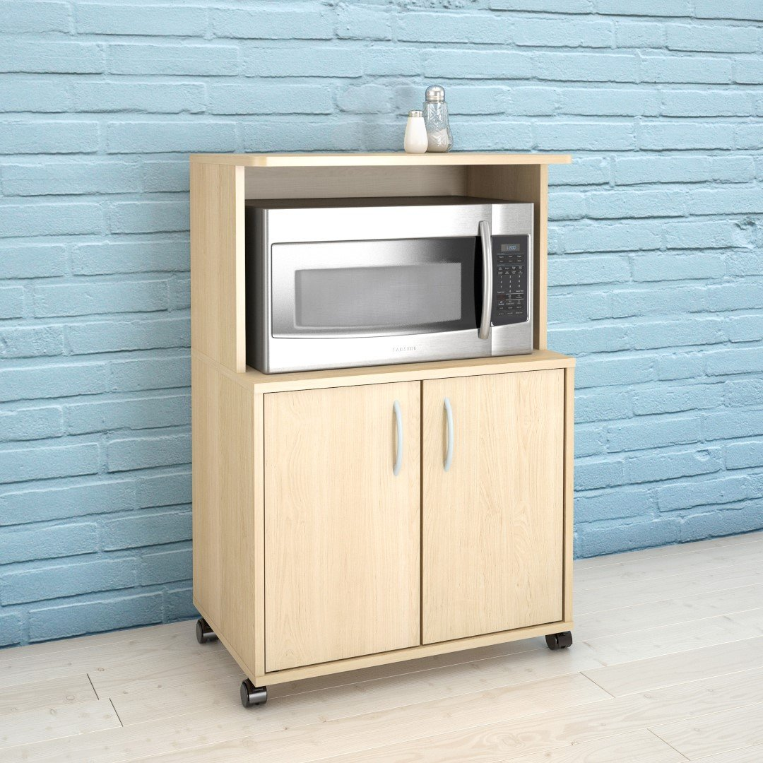 Amazon.com: Nexera 2-Door Utility Cart: Kitchen & Dining