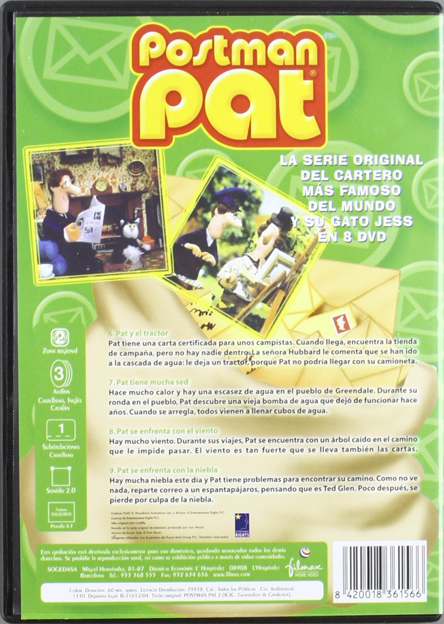 Amazon.com: Pack Postman Pat (Vol. 1-8)  [Import espagnol ...