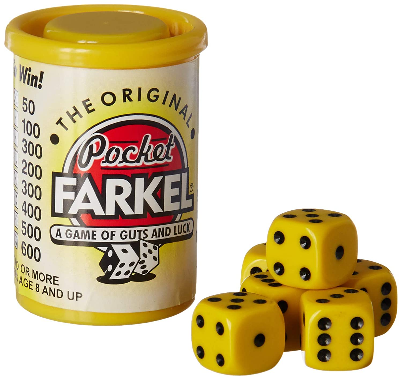 Yellow Legendary Games LGII07031 Original Pocket Farkel