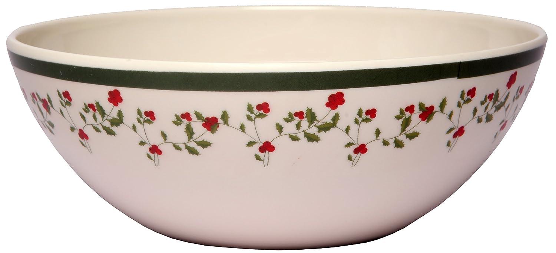 Holiday Berry Collection Shatter-Proof and Chip-Resistant Melamine Bowls 612409791771 Melange 6-Piece 100/% Melamine Bowl Set