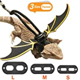 KUDES Adjustable Bearded Dragon Leather Harness