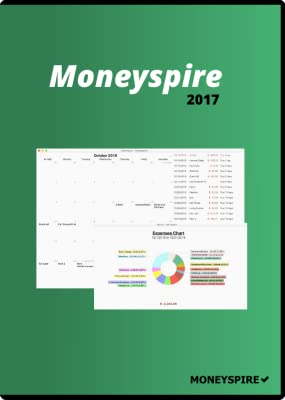 Moneyspire 2017 Basic Mac Personal Finance & Budgeting Software [Download]