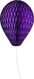 product image for 6-Pack 11 Inch Honeycomb Tissue Paper Balloon (Purple)