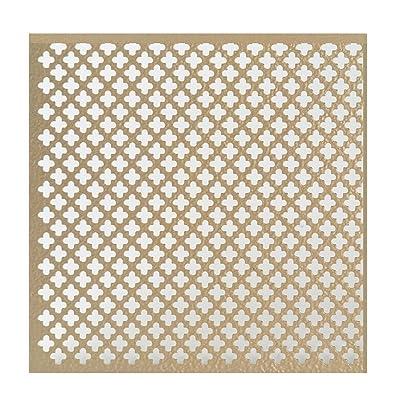 M-D Building Products 56016 .020-Inch Thick 1 2-Feet Cloverleaf Aluminum Sheet, Albras - Hardboard Sheets - .com
